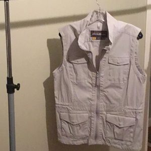 Eddie Bauer grey travex travel vest